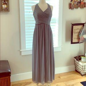 Size 8 David's bridal floor length gown (petite)